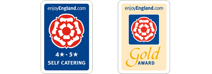 enjoyengland.com 4 and 5 start self catering and gold award cottages - green tourism gold award