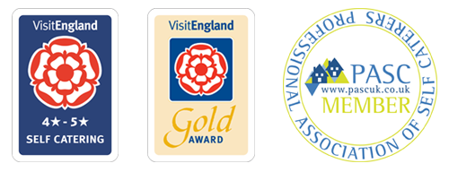 Visit England Awards and Professional Association of Self Caterers Member