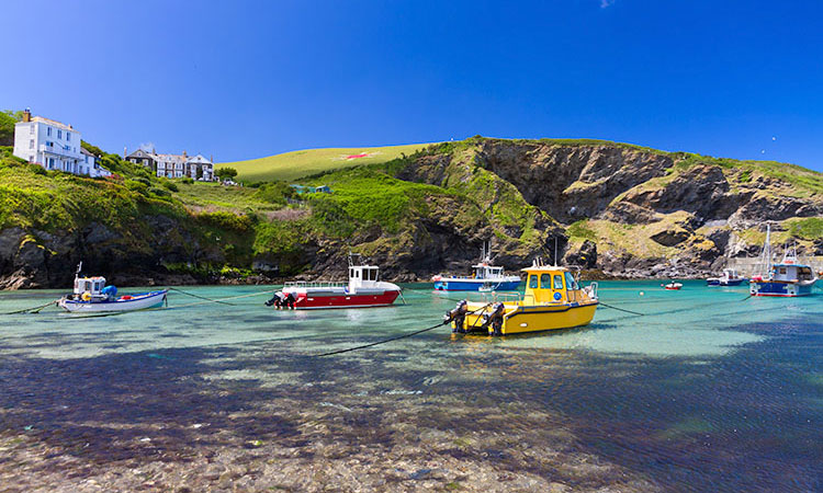 Port Isaac in North Cornwall