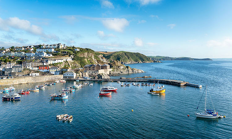 Mevagissey near St Austell in Cornwall