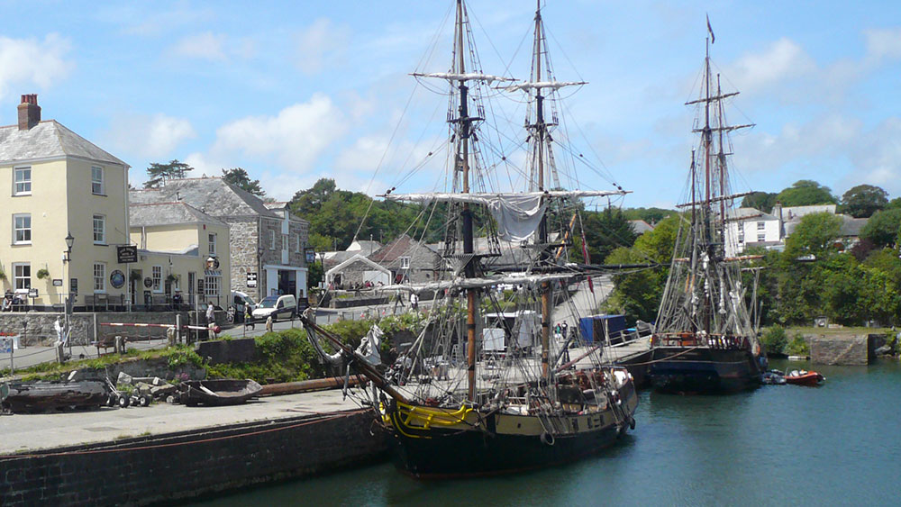 charlestown harbour near st austell