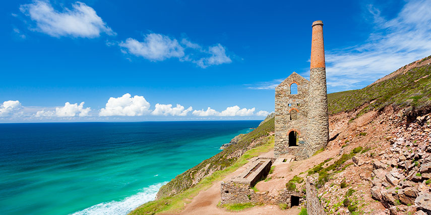 Towanroath Tin Mine, St Agnes, Cornwall